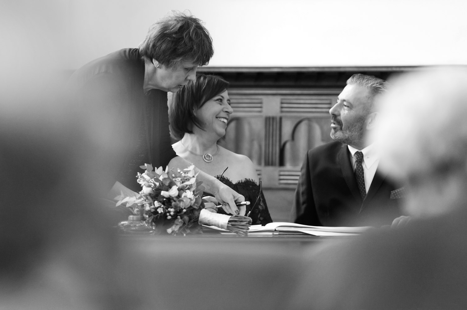 Hastings wedding photography of relaxed evening reception