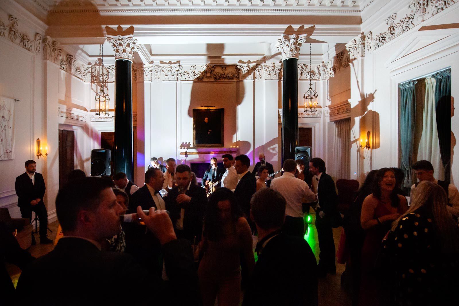 Wedding party reception at the Ned London