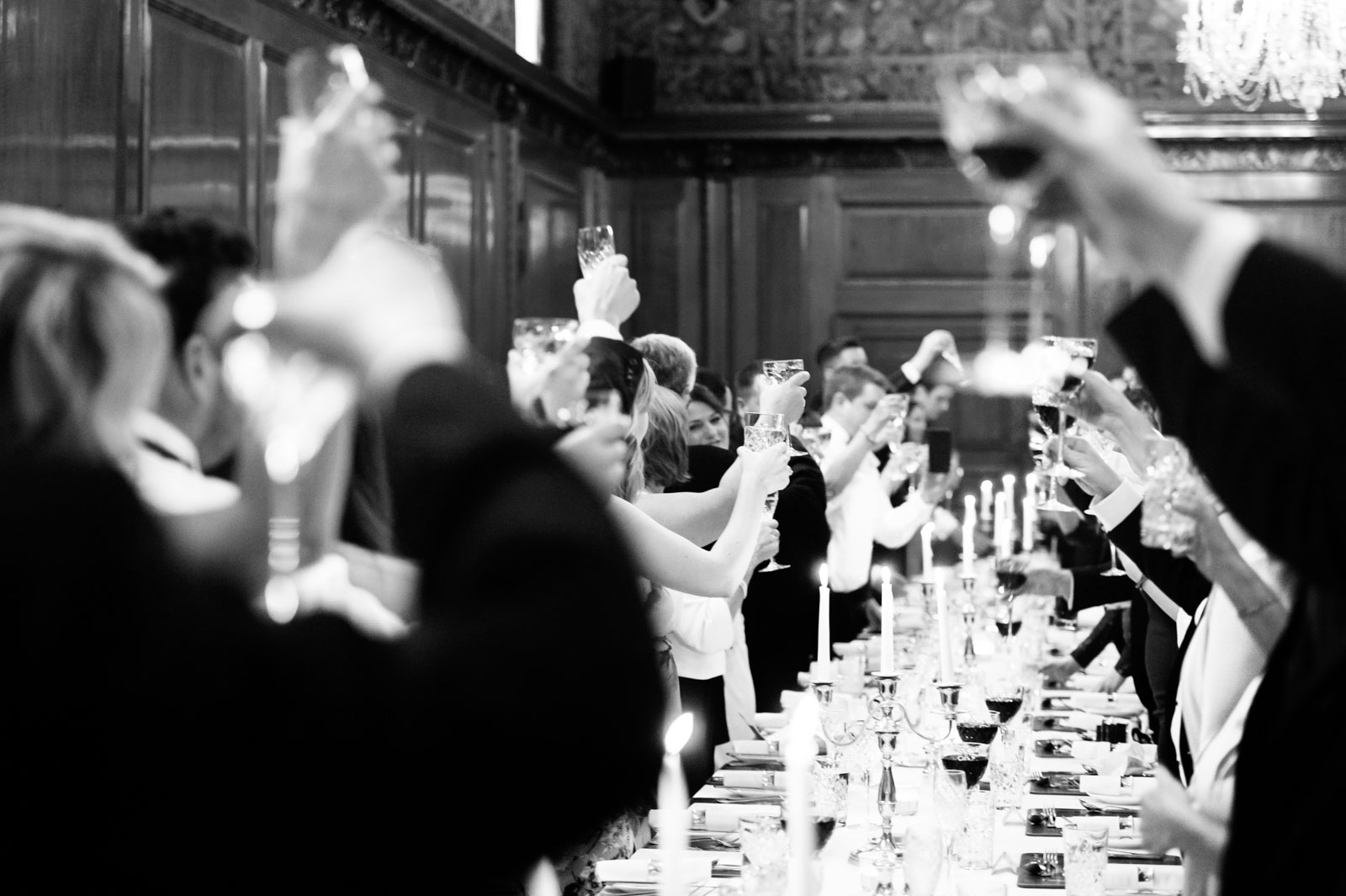 Wedding toast at the Ned London
