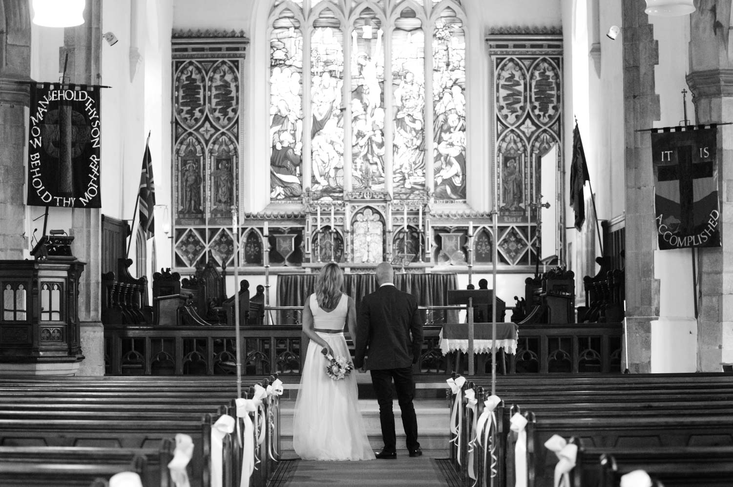 Couple in All Saints church Hastings